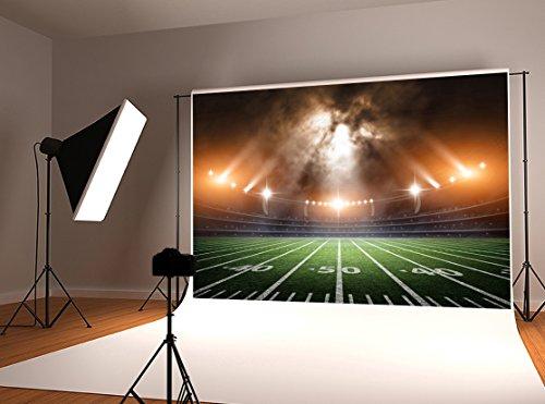 Kate 10x6.5ft Sport Theme Photography Backdrop Football Stadium Photo Background ()