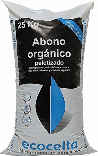 Abono orgánico peletizado 25 kg Ecocelta: Amazon.es: Jardín