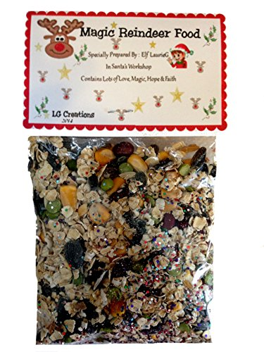 Favorite Magic Reindeer Food Premium Blend Christmas Eve Tradition for Santa & Rudolph ()