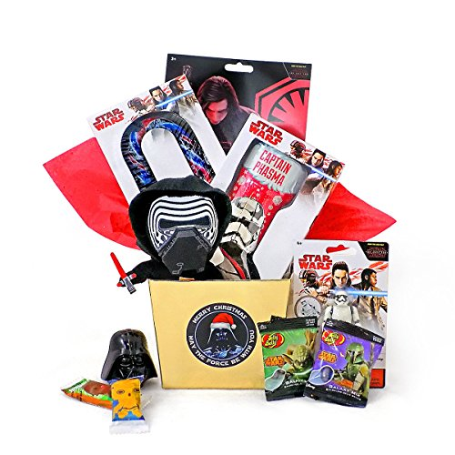 Star Wars Holiday Themed Christmas Candy Gift Basket