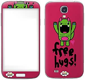 Zing Revolution So So Happy Premium Vinyl Adhesive Skin for Samsung Galaxy S4, Tribe Free Hugs (MS-SOSO60456)