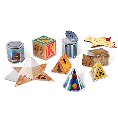 Learning Resources Real World Folding Geometric Shapes Set of 8