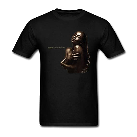 Amazon.com: SUNRAIN Men's Sade Love Deluxe T Shirt: Clothing