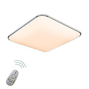 SAILUN 36W Dimmbar Ultraslim LED Deckenleuchte Modern Deckenlampe Flur Wohnzimmer Lampe Schlafzimmer Kche Energie Sparen Licht