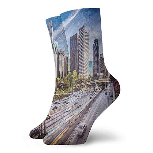 - Street Style Sock Travel,Downtown Los Angeles USA 3.4
