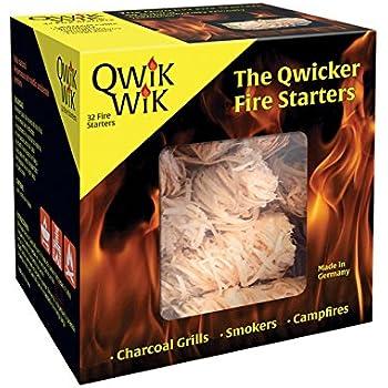 Blackwood Charcoal Qwik Wik All Natural Fire Starters – 32 Fire Starters
