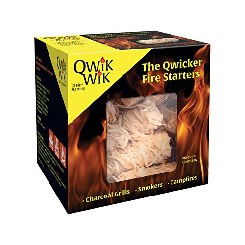 Blackwood Charcoal Qwik WIK All Natural Fire Starters – 32 Fire Starters