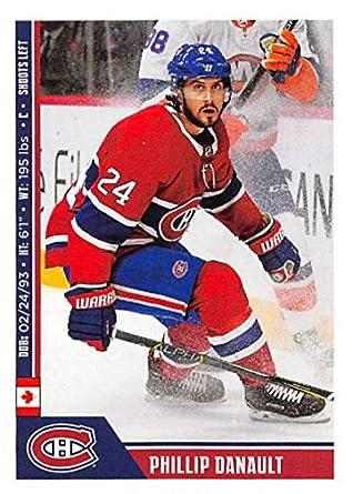 2018-19 Panini NHL Stickers Hockey  117 Phillip Danault Montreal Canadiens 80cff1f48