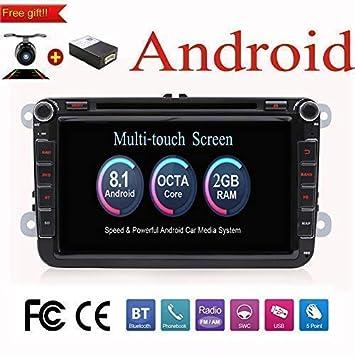 Android 8.1 20.3cm Octa Core doble DIN GPS estéreo ...
