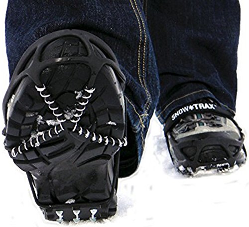 Snow Trax Shoe Traction Strap 2 Pair (S M)