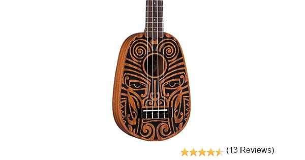 Luna Guitars UKE TRIBAL PIÑA Ukelele: Amazon.es: Instrumentos musicales