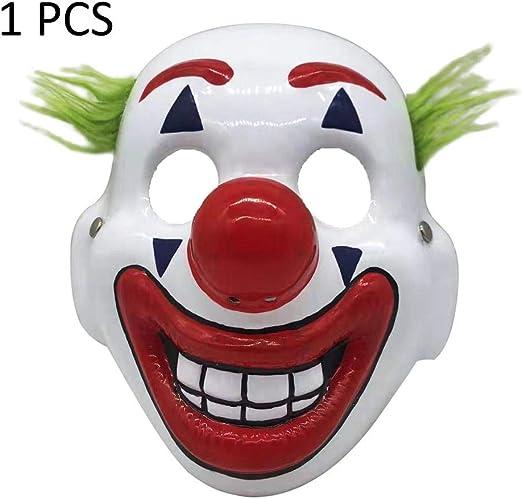 xiliary 5 piezas máscaras de Halloween Joker máscara Arthur Fleck ...