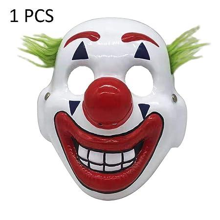 Xiliary 5 Piezas Mascaras De Halloween Joker Mascara Arthur Fleck