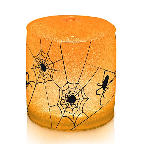 MPOWERD Luci Spooky Spider Inflatable Solar Lantern is one of our favorite fun camping Halloween decorations for your campsite and ideas for decorating your RV