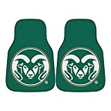 Fanmats NCAA Colorado State University Rams Nylon Face Carpet Car Mat