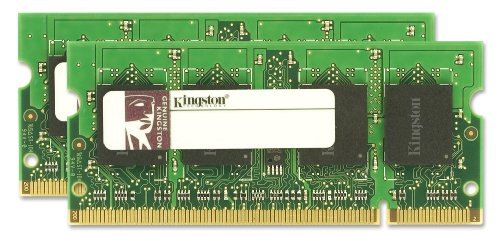 Kingston Apple 4GB Kit (2x2GB Modules) 800MHz DDR2 SODIMM iMac and MacBook Memory (KTA-MB800K2/4GR)