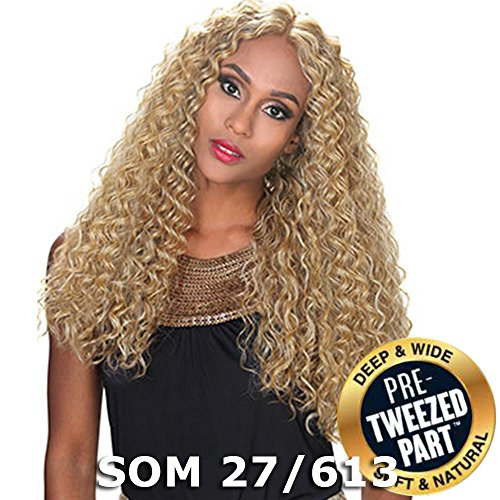 Sis Royal Pre-Tweezed Part Swiss Lace Front Wig - QUEEN (SOM 27/613)