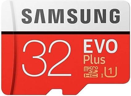 Samsung 32  GB EVO Plus Class 10 Micro SDHC with Adapter  MB MC32GA/AM  Micro SD Cards