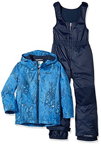 Columbia Boys' Toddler Girls' Frosty Slope Set, Super Blue Energy Dot 3T