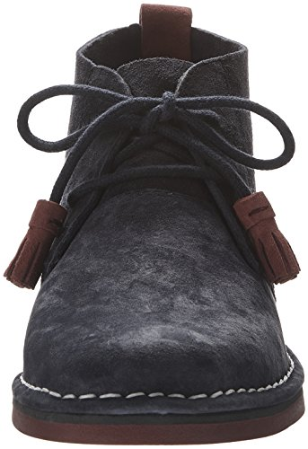 Hush Puppies Frauen Cyra Catelyn Boot Navy Wildleder / Rot