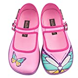 Hot Chocolate Design Mini Chocolaticas Butterfly Girls Mary Jane Flat Multicoloured HCD 33