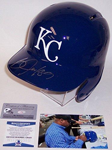 Bo Jackson - Rawlings - Autographed Full Size Batting Helmet - Kansas City Royals - BAS - Helmet Bo Jackson Autographed