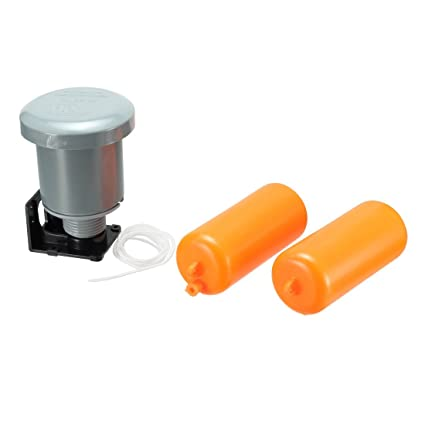 sourcingmap® Controlador de nivel de líquido del interruptor de flotación AC 110V-240V Rosca