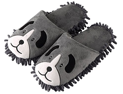 Slippers Cleaning Novelty House Soft Sole Scuff Dog Shoes Cartoon Adult PRqwXp