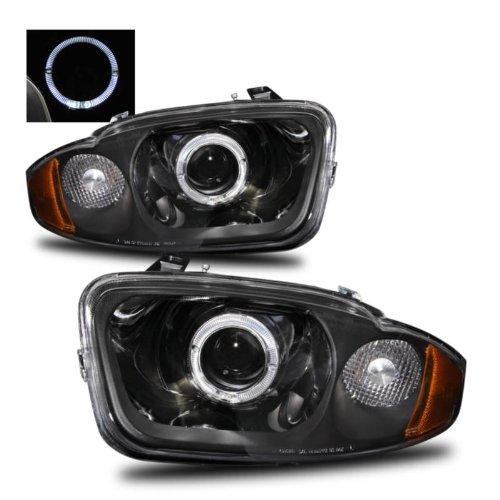 SPPC Projector Headlights Halo Black For Chevrolet Cavalier - (Pair)