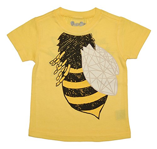 Peek-A-Zoo Infant Baby Become an Animal Short Sleeve T shirt - Bee Yellow (18/24 MONTHS)]()