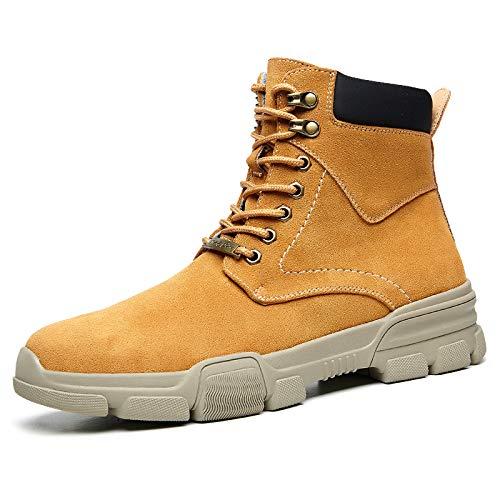 Shukun Herren Stiefel Winter Herren High-Top-Schuhe in der Baumwolle Schuhe Kurze Stiefel Baumwolle warme Werkzeug Stiefel Wild Stiefel Martin Stiefel Männer