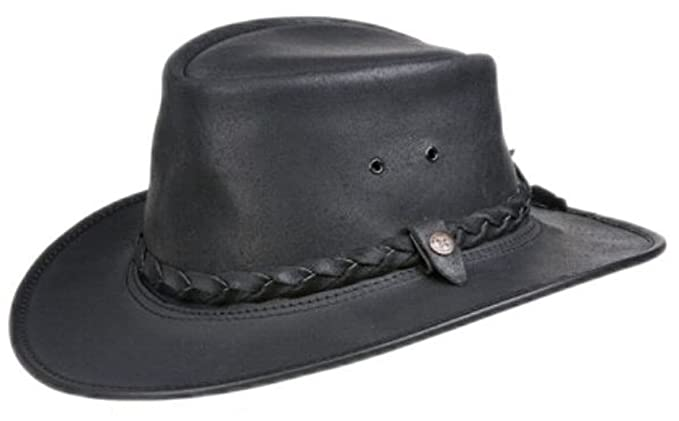BC Hats Bac Pac Traveller Oily Australian Leather Hat  Amazon.ca  Clothing    Accessories 8579d7684a38