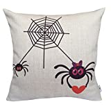 YOYOU Decorative Pillow Covers Cute Spiders Patio Pillows Cases (AA4)