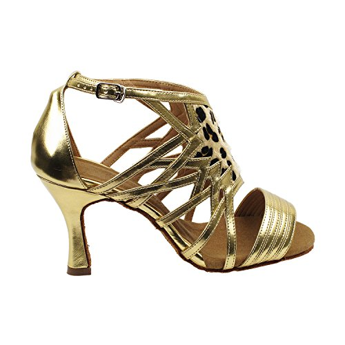 Swing Pigeon Tango SERA7036 Comfort Gold Evening Top Gold Salsa Wedding Tango Women Ballroom Shoes High Dress Party Party Medium Dance Swing Latin Salsa 7016 Latin Heel Shoes Pump High Shoes Fwqqxn4d
