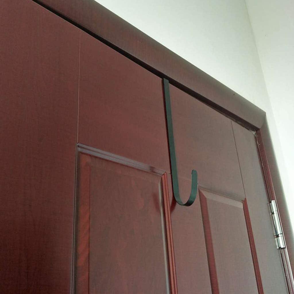 XISAOK Door Hook Hangers Removable Storage Rack Organizer for Christmas Wreath Coat Bag