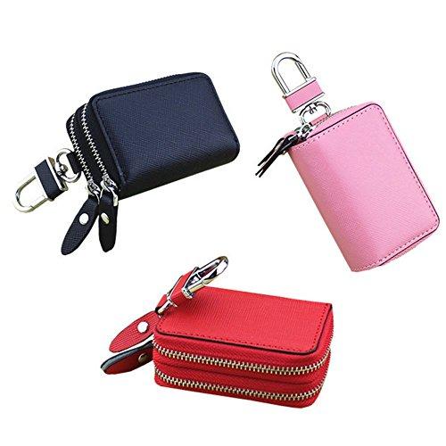 Eysee - Cartera de mano para mujer rojo rosa 7.8cm*5cm*3.2cm negro