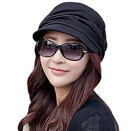 2020 New Womens Newsboy Cabbie Beret Cap Cloche Cotton Painter Visor Hats