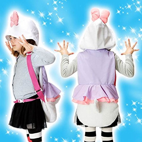Disney Hooded Backpack Costume -Toddler/Young Child Size (Daisy -