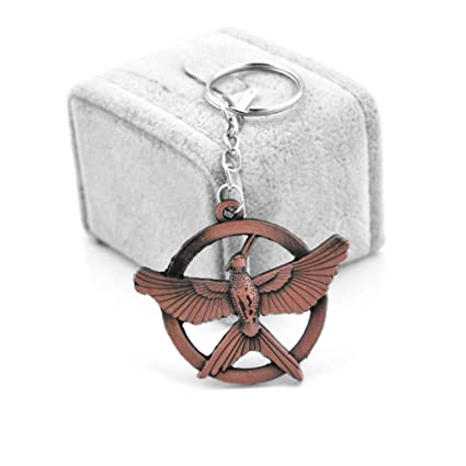 KJHKJH Pop The Hunger Games Keychain Populares Estilo ...