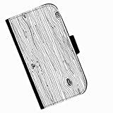 Hairyworm - Tree bark drawing Acer Liquid Z220 leather side flip wallet cell phone case, cover with card slots, money slot and magnetic clasp to close.