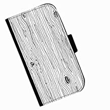 Hairyworm - Tree bark drawing Asus Zenfone 2 ZE551ML leather side flip wallet cell phone case, cover with card slots, money slot and magnetic clasp to close.