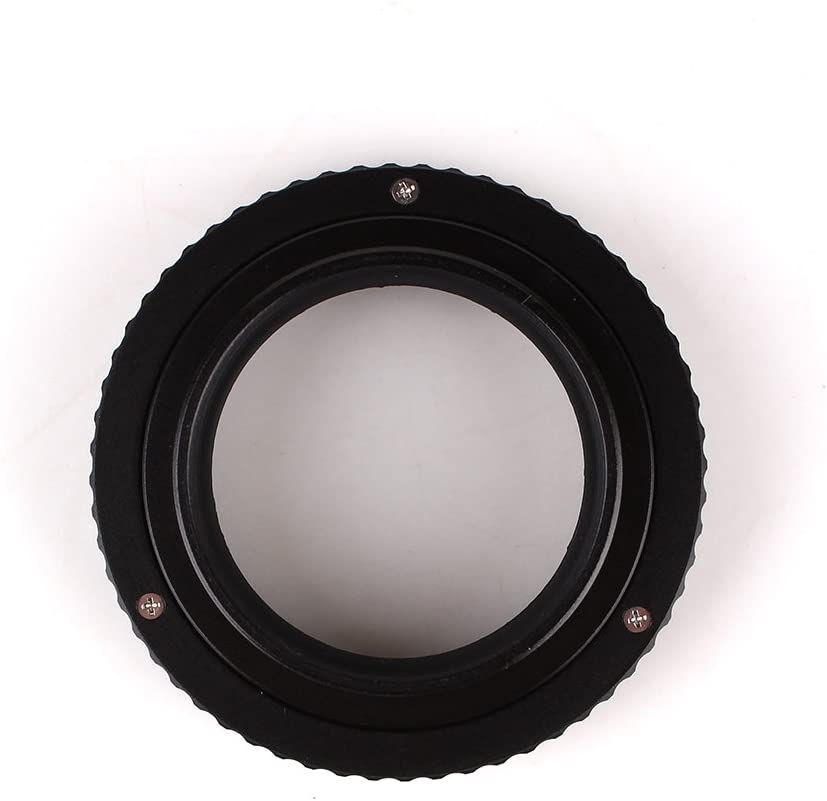 Pixco M39 to M42 Adjustable Focusing Helicoid Adapter 12mm to 19mm for Macro Shooting M39-M42