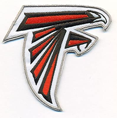 Atlanta Falcons Logo Football NFL Embroidered Iron On Patches Hat Jersey
