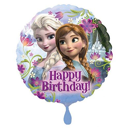 Anagram International HX Frozen Happy Birthday Party Balloons, Multicolor ()