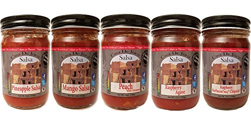 Casa De Jorge Favorite Fruit Salsa 5 Pack