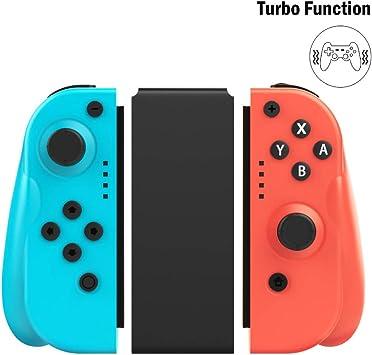 MoKo Mando para Nintendo Switch, Controlador De Reemplazo Izquierdo Y Derecho para Joy con con Agarre Ergonómico, Cómodo Mando de Mano Joy-con Remote, Wireless Joy Pad Controller: Amazon.es: Electrónica