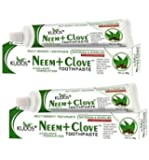 Kudos Ayurveda Neem And Clove Toothpaste - 100g (Pack of 2)