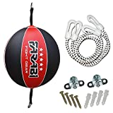 Farabi Sports Speed ball, Punching ball made with quality rex leather with swivel