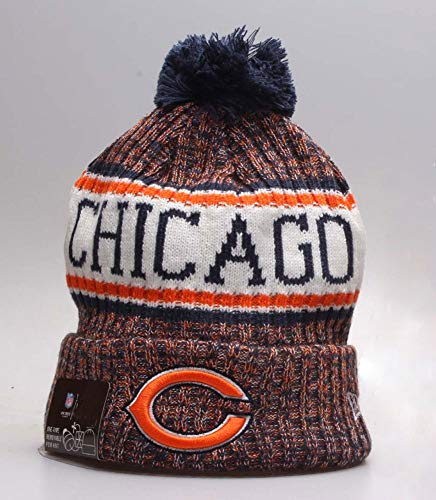 chicago bears hat winter - 5
