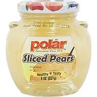 MW Polar Fruits in jar 8 oz. (Pack of 12) (Pear)